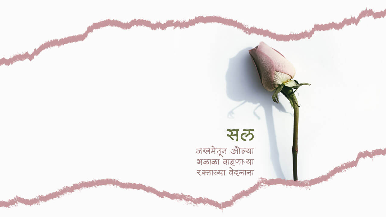 सल - मराठी कविता   Sal - Marathi Kavita