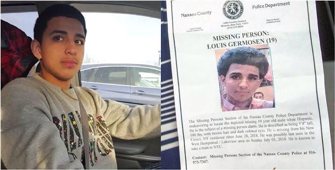 Reaparece sano y salvo adolescente de origen dominicano desparecido en Long Island