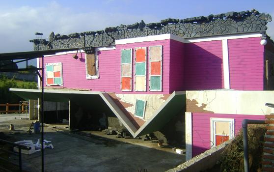Rumah Terbalik Eco Green Park Kota Batu
