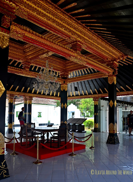 Sala del Kratón en yogyakarta