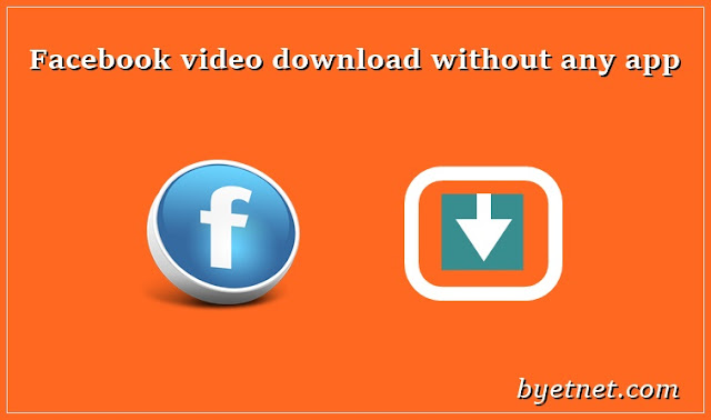 Facebook Video Kaise Download Kare Bina Kisi app/website ke