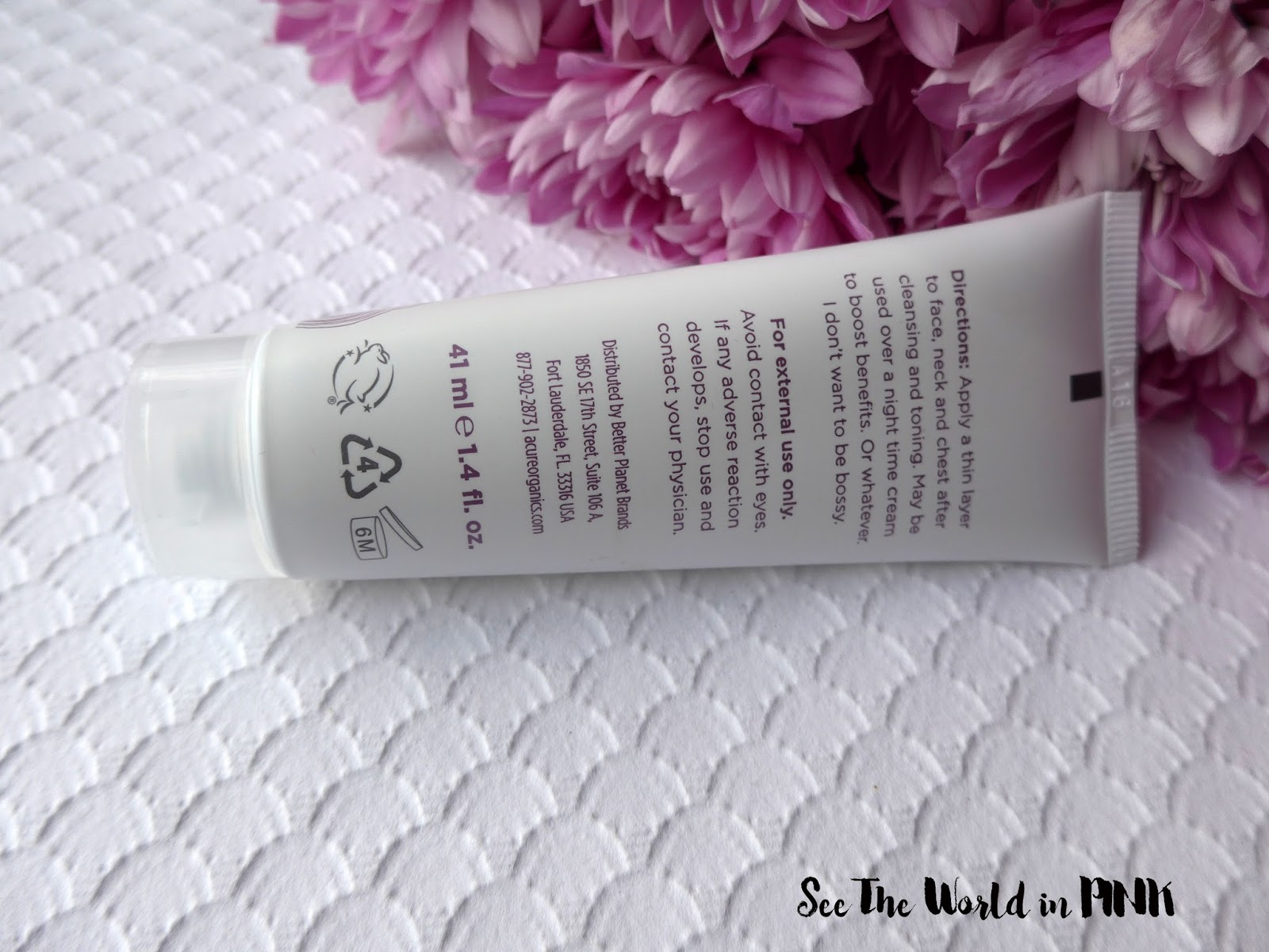 "Skincare Sunday - Acure Organics ""The Magical Wonderfluff"""