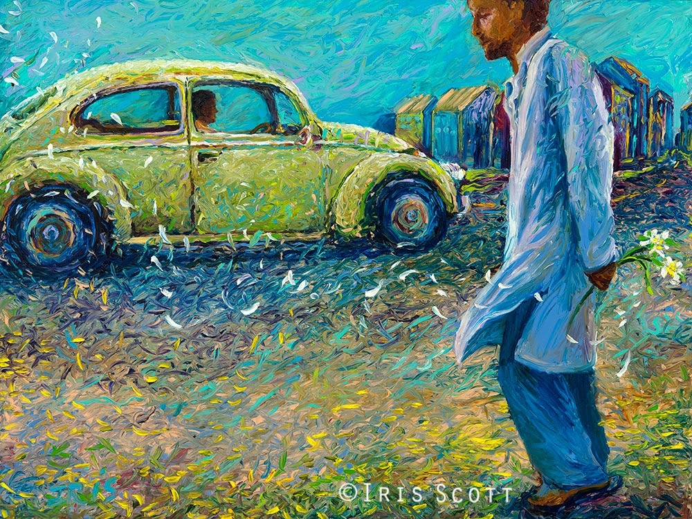 12-My-Thai-Volkswagen-Iris-Scott-Finger-Painting-Fine-Art-www-designstack-co