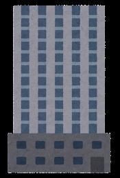 いろいろなビルのイラスト6