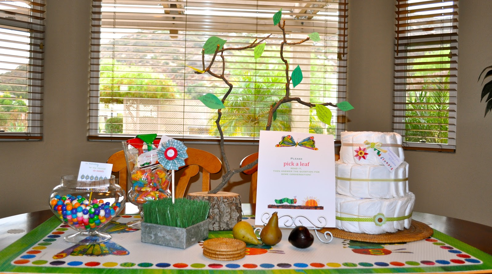 The Very Hungry Caterpillar Baby Shower Make Life Lovely