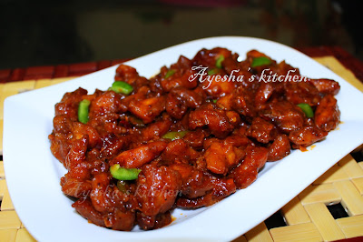 Dragon chicken recipes indo chinese recipes yummy chicken recipes ayeshas kitchen recipes ayesha farah saucy chicken chicken strips kerala restaurant style