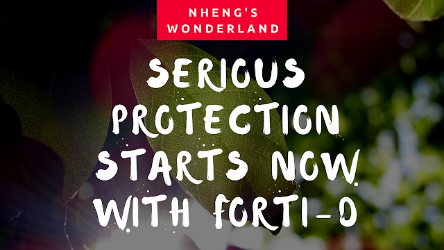 Serious Protection Starts Now With Forti-D