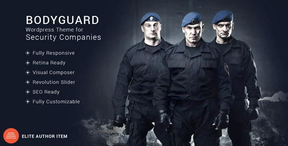 Bodyguard - Security Wordpress Theme