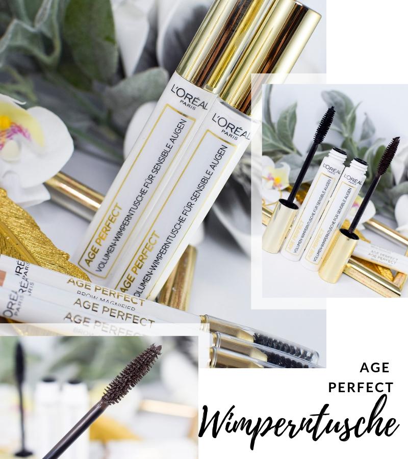 Übersicht und Test der L'Oréal Age Perfect Wimperntusche