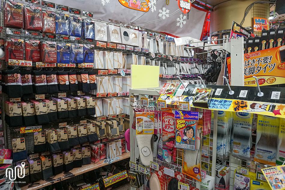 สินค้าต่างๆในร้านดองกี้(Don Quijote) สาขา Shinjuku