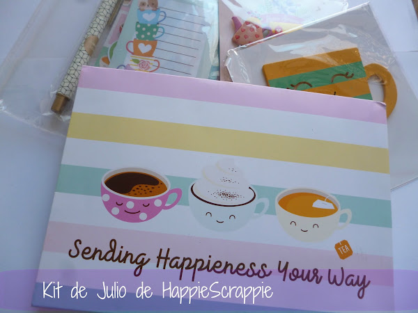 Kit de Julio de HappieScrappie