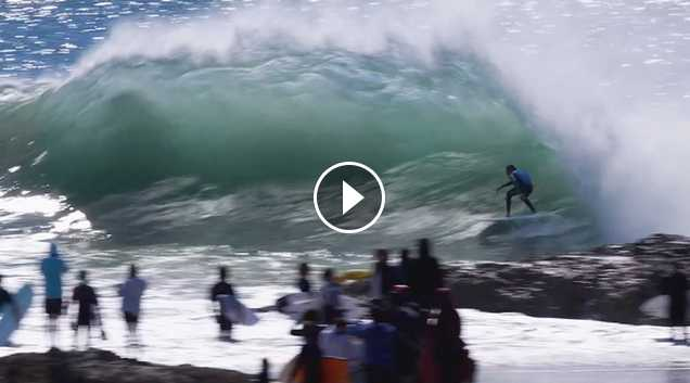 Snapper Rocks Sunday Swell - 20 August 2017