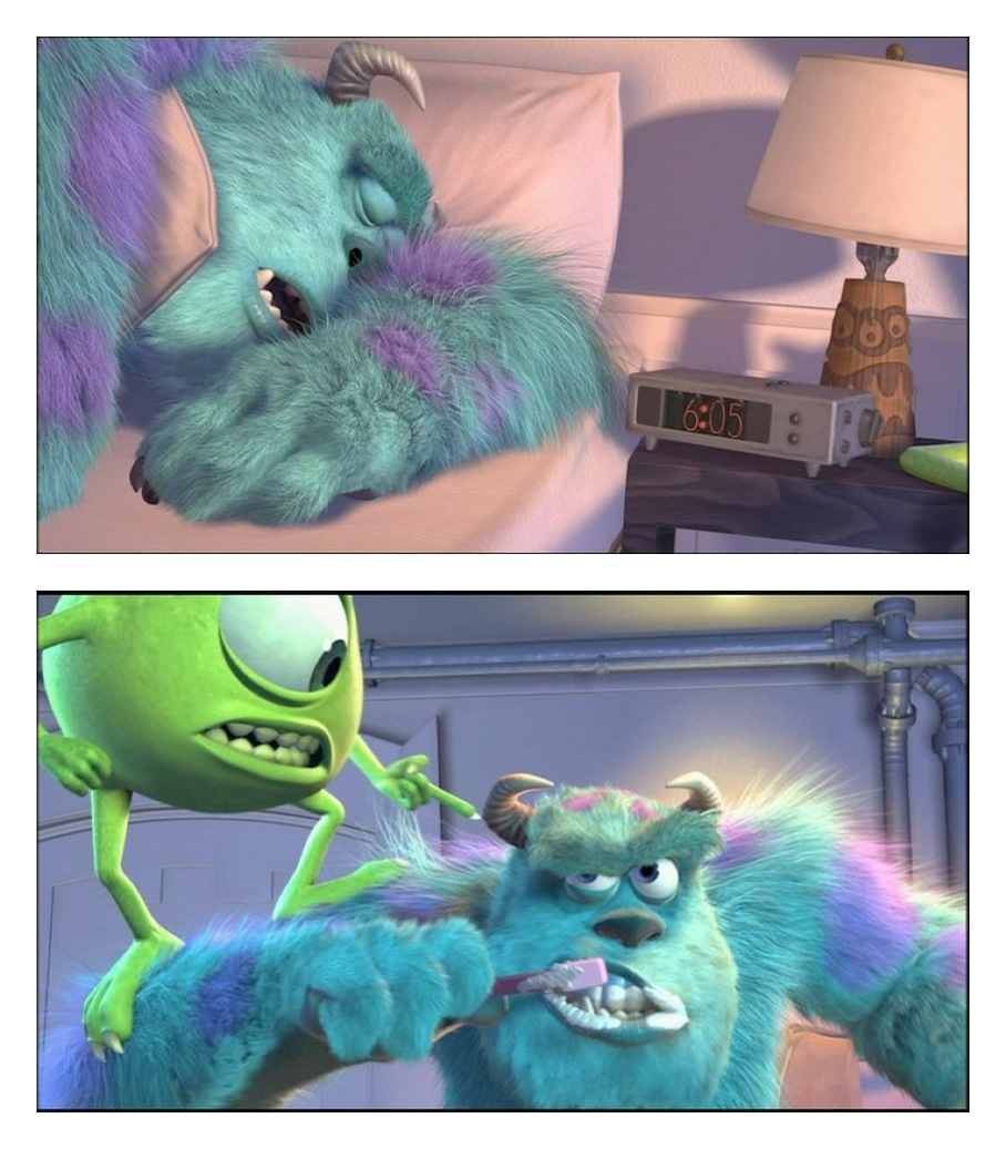 directors commentary track review monsters inc