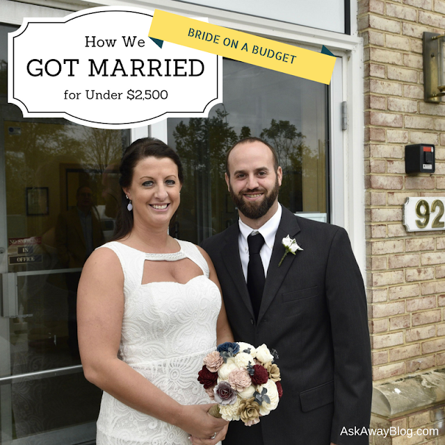 How to get married on a budget