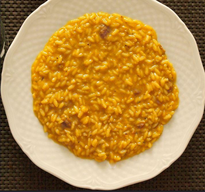 street food cuisine du monde recette de riz la v nitienne au safran et curcuma comme un risotto. Black Bedroom Furniture Sets. Home Design Ideas