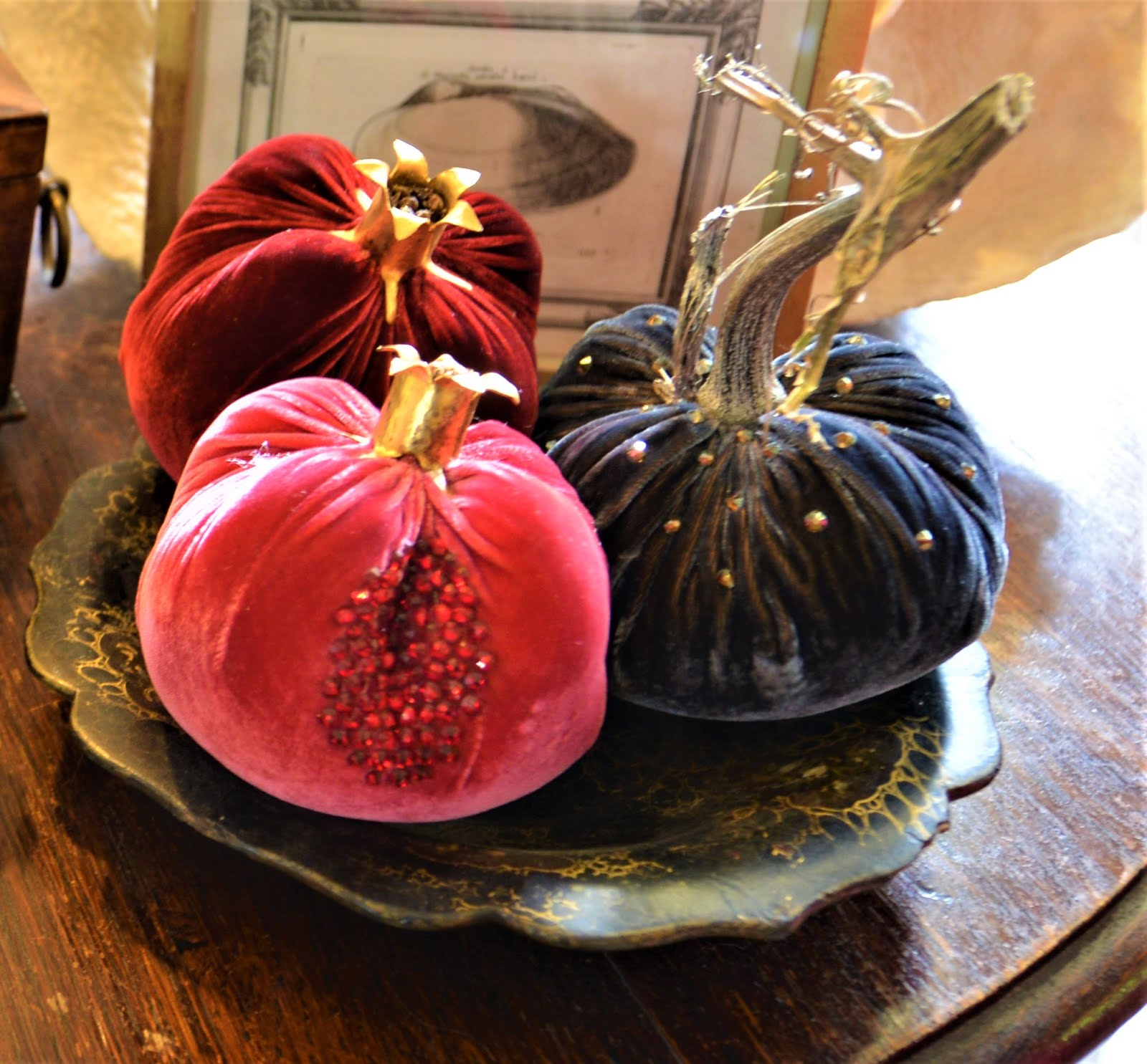 LOVEFEAST SHOP - VELVET POMEGRANATES!