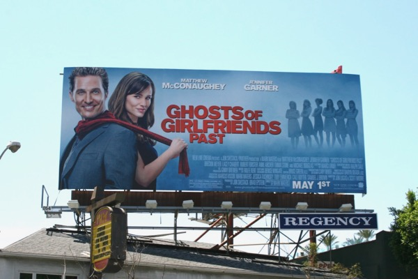 Ghosts of Girlfriends Past movie billboard