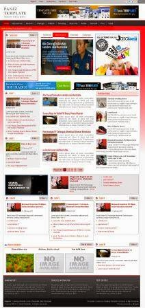 Download PANJZ TEMPLATE, Blog berita