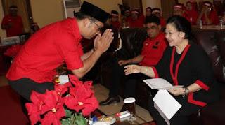 Ridwan Kamil Sungkem kepada Megawati