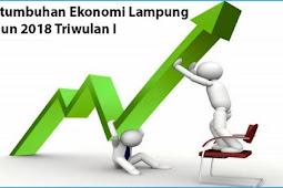 Pertumbuhan Ekonomi Lampung Tahun 2018 Capai 5,16 Persen pada Triwulan I