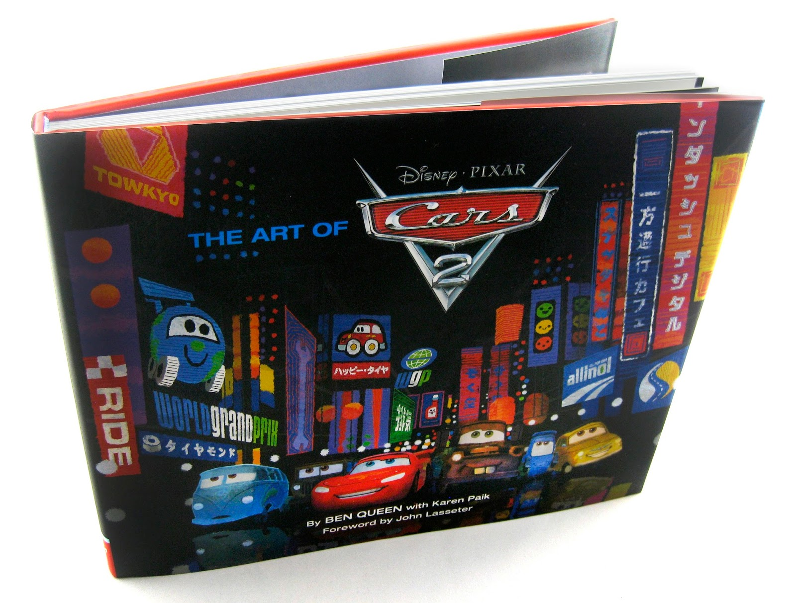 Dan the Pixar Fan: Cars 2: Art of Book