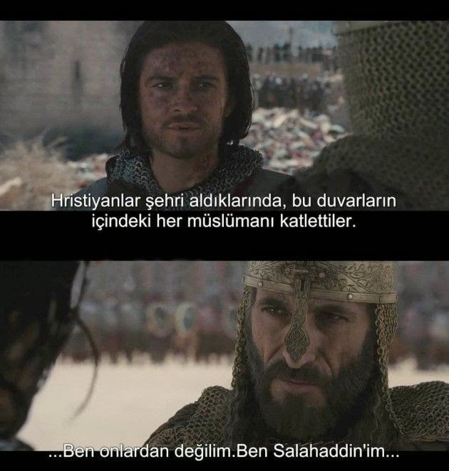 kingdom of heaven filmi replikleri