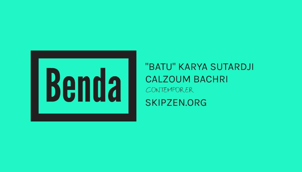 Puisi Kontemporer Batu Karya Sutardji Calzoum Bachri