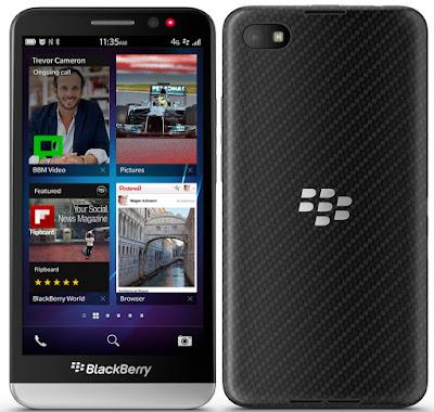 Harga dan Spesifikasi HP Blackberry Z 30