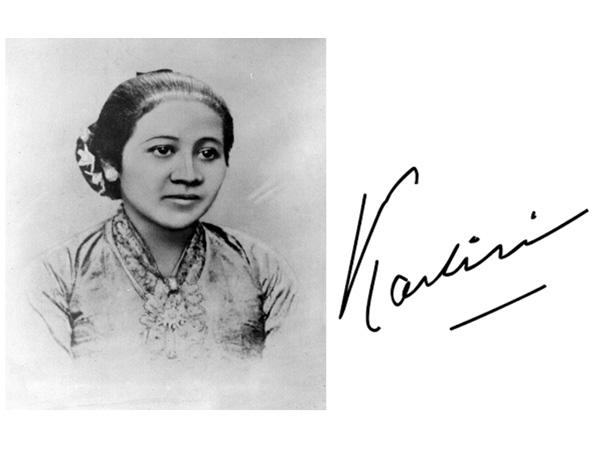 yang memperjuangkan Kemajuan contoh pikir dan persamaan hak untuk Wanita R.A Kartini, Pejuang Emansipasi Wanita di Indonesia