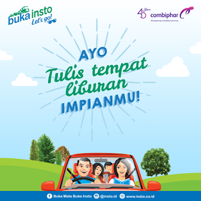 Liburan Gratis ke Lombok - Insto Let's Go