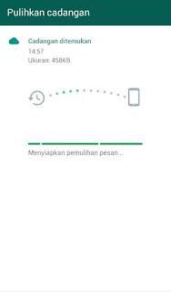 Memindahkan Chat WhatsApp ke HP Android Baru  Memindahkan Chat  WhatsApp ke HP Android Baru