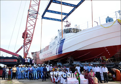 V-409, a new interceptor boat launched