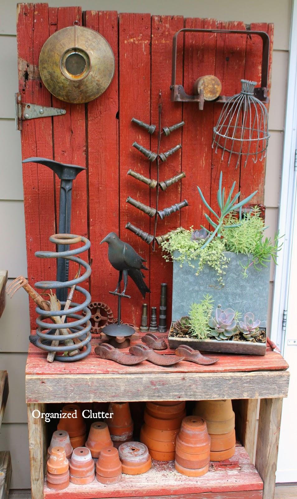 Dana S Fun Outdoor Junk Decor Amp Gardens Organized Clutter