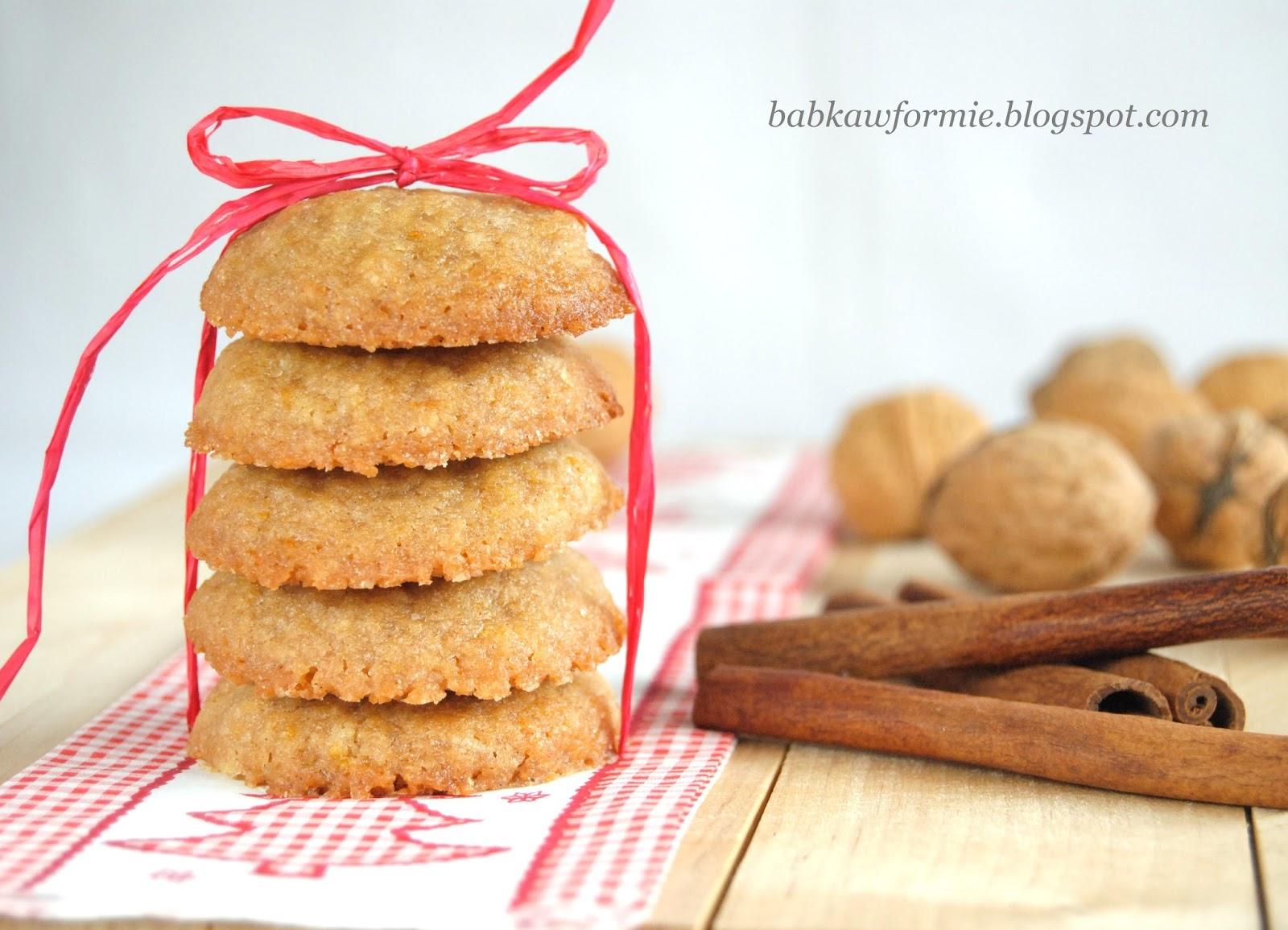 ciasteczka imbirowe Boże Narodzenie babkawformie.blogspot.com