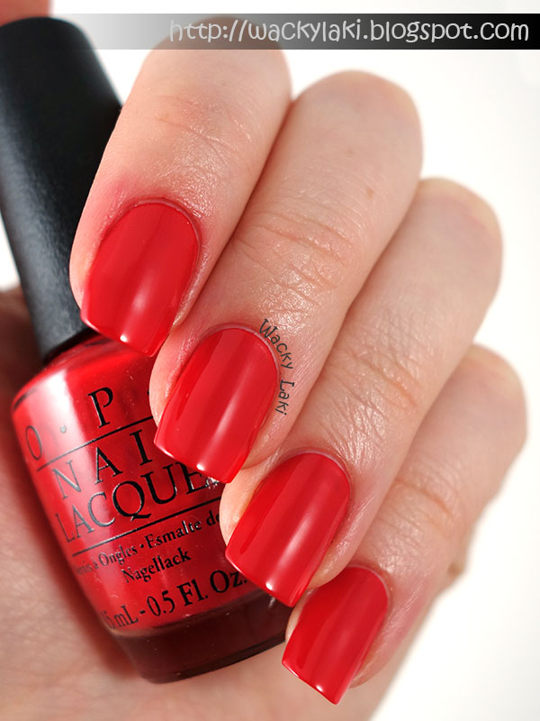 Opi Coca Cola Nail Polish Collection Partial: Wacky Laki: Coca-Cola By OPI Collection Swatches And Review