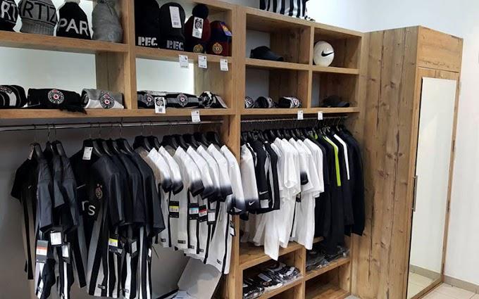 Novi Partizanov crno-beli butik! (FOTO)