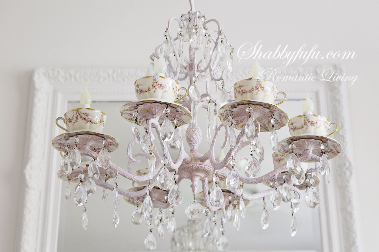 tea cup chandelier ideas