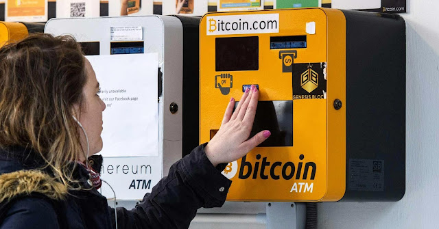 ATM for digital currency