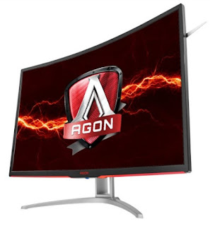 AOC AGON AG322QCX, 144Hz Curved Gaming Monitor With AMD FreeSync