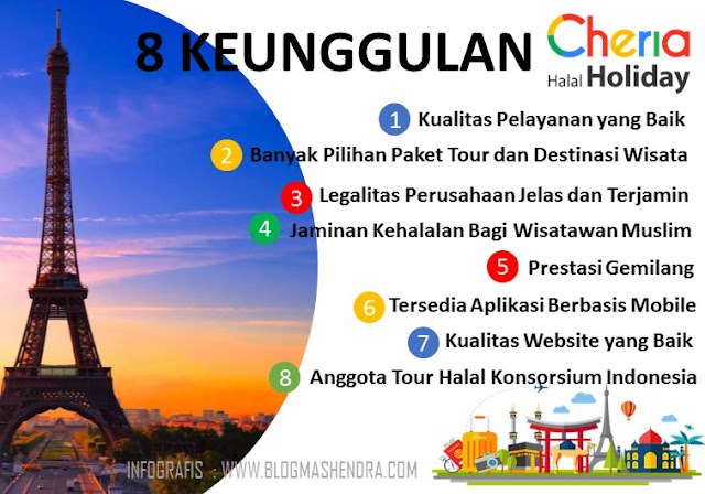8 Keunggulan Cheria Halal Holiday - Blog Mas Hendra