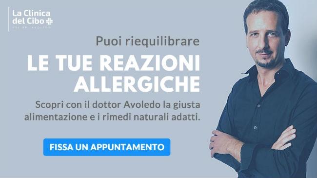 Trattamenti naturali alla Clinica del Cibo con il dottor Avoledo per difendersi dalle allergie