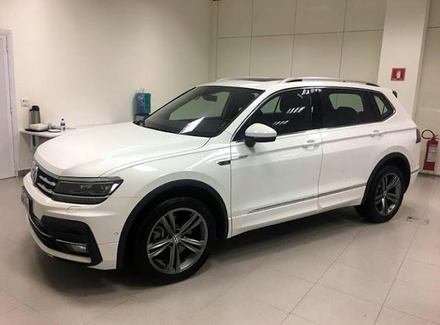 VW Tiguan 350 TSI chega ao Brasil neste mês
