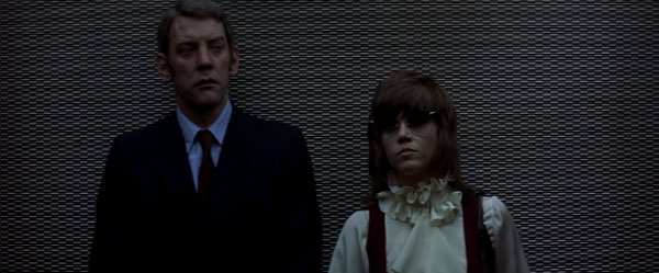 Klute, starring Jane Fonda and Donald Sutherland