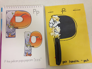 teaching letter p in preschool