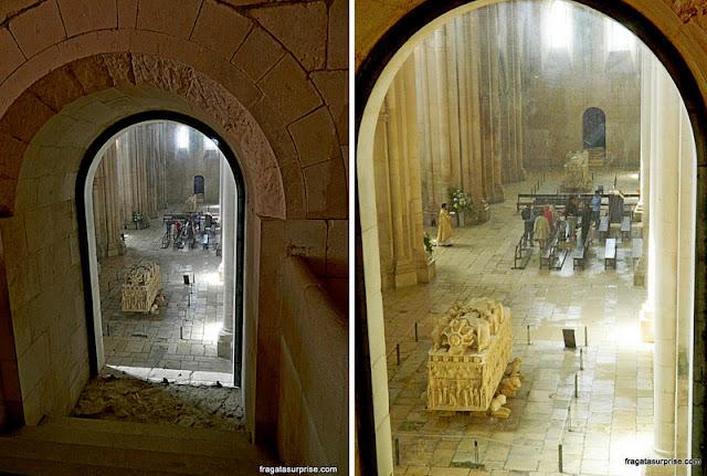 Túmulos de Inês de Castro e Pedro I, Mosteiro de Alcobaça