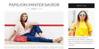Life fashion Blogger template