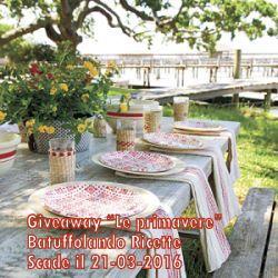 """Giveaway di Batuffolando Ricette """"Le Primavere"""""""