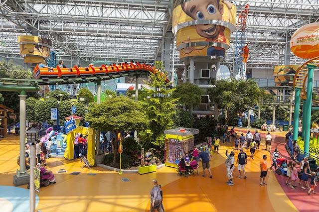 Los centros comerciales más grandes e impresionantes del mundo, Mall of America Minnesota Estados Unidos