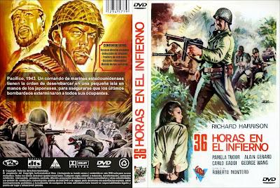 Treinta y seis horas en el infierno | 1969 | 36 ore all'inferno | DVD Carátula