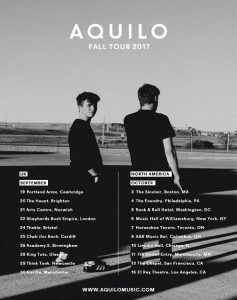 Aquilo Tour Dates